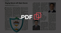 PDF - CIO Review: Staying Secure with Open Source