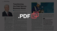 PDF - CIO Review: Transforming the Field Service Business Model